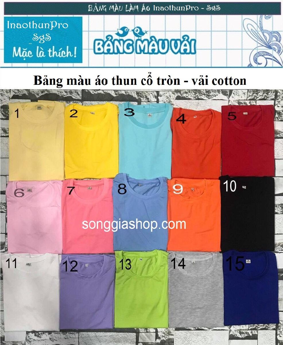 In áo thun ở Đồng Nai theo yêu cầu | InaothunPro - Song Gia Shop